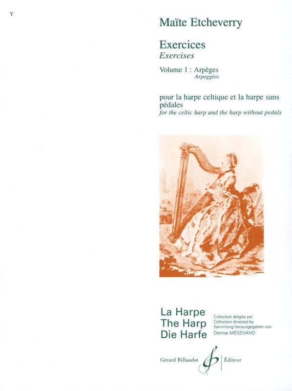 Exercices, Volume 1 - Arpèges - Maïté Etcheverry - laflutedepan.com