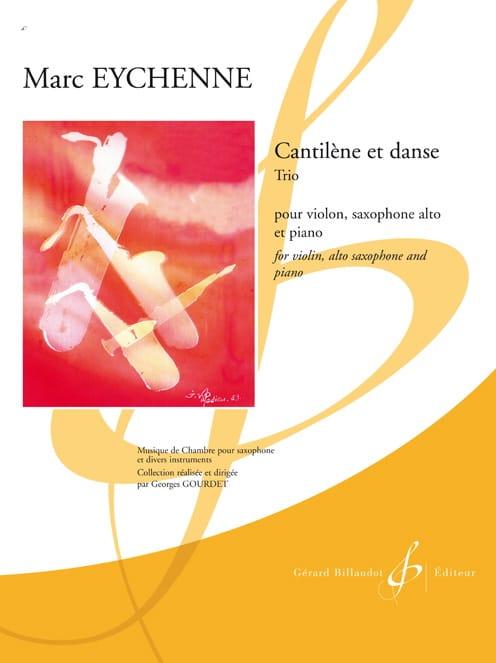 Cantilène et Danse - Marc Eychenne - Partition - laflutedepan.com