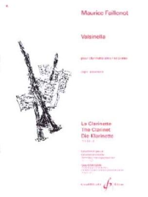 Maurice Faillenot - Valsinella - Partition - di-arezzo.co.uk