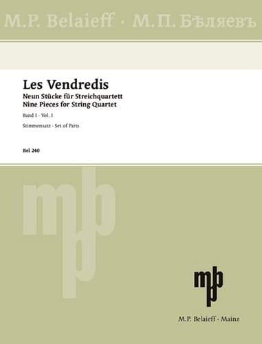 Les Vendredis - Band 1 -Streichquartett - laflutedepan.com