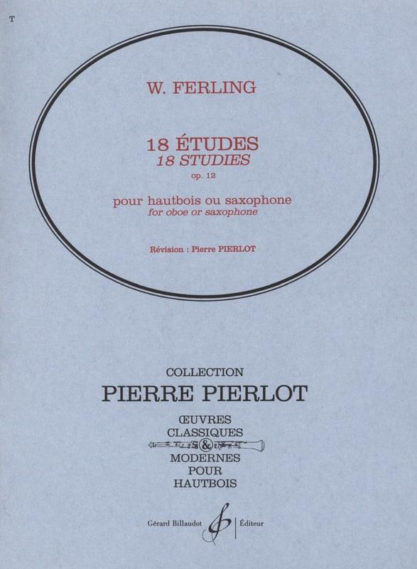 18 Etudes op. 12 - W. Ferling - Partition - laflutedepan.com