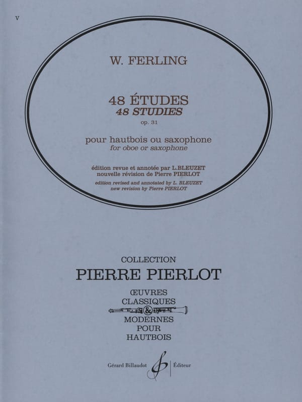 Franz W. Ferling - 48 Etudes, Opus 31 - Partition - di-arezzo.co.uk