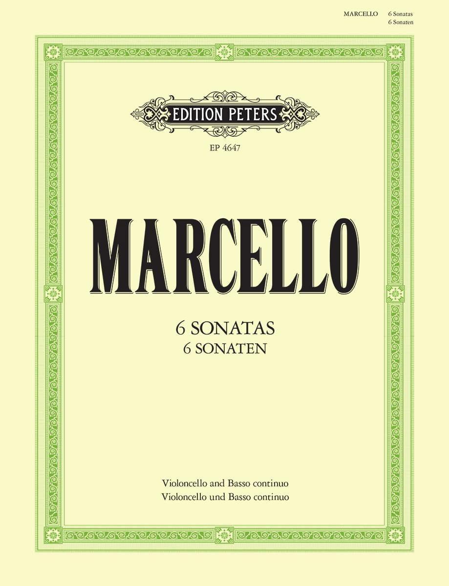 Benedetto Marcello - 6 Sonaten - Partition - di-arezzo.com