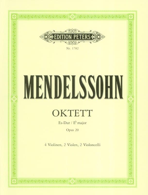 MENDELSSOHN - Octet in Es-Dur op. 20 - Stimmen - Partition - di-arezzo.co.uk