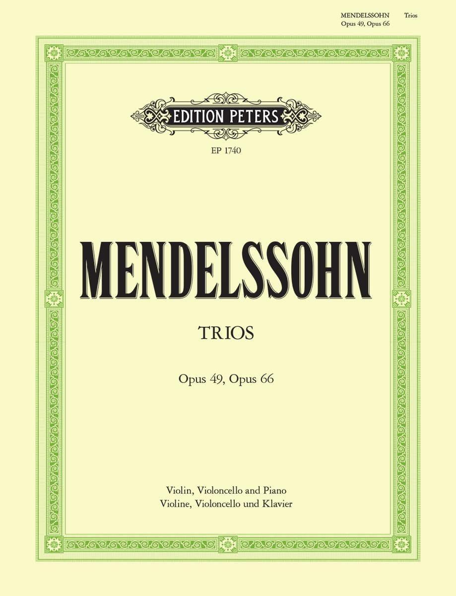 Klaviertrios op. 49 d-moll und 66 c-moll - laflutedepan.com