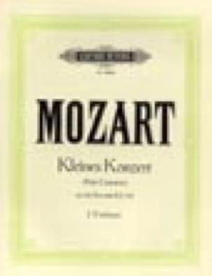 Kleines Konzert - MOZART - Partition - Violon - laflutedepan.com