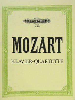 MOZART - Klavierquartette KV 478, KV 493 - Partition - di-arezzo.com