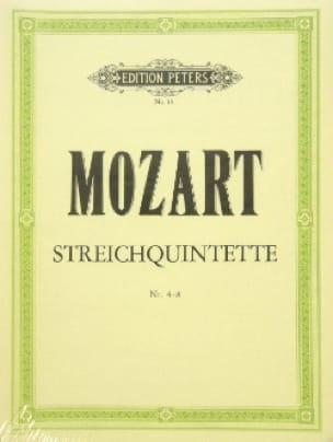 MOZART - Streichquintette - Bd. 1: Nr. 4-8 - Stimmen - Partition - di-arezzo.co.uk