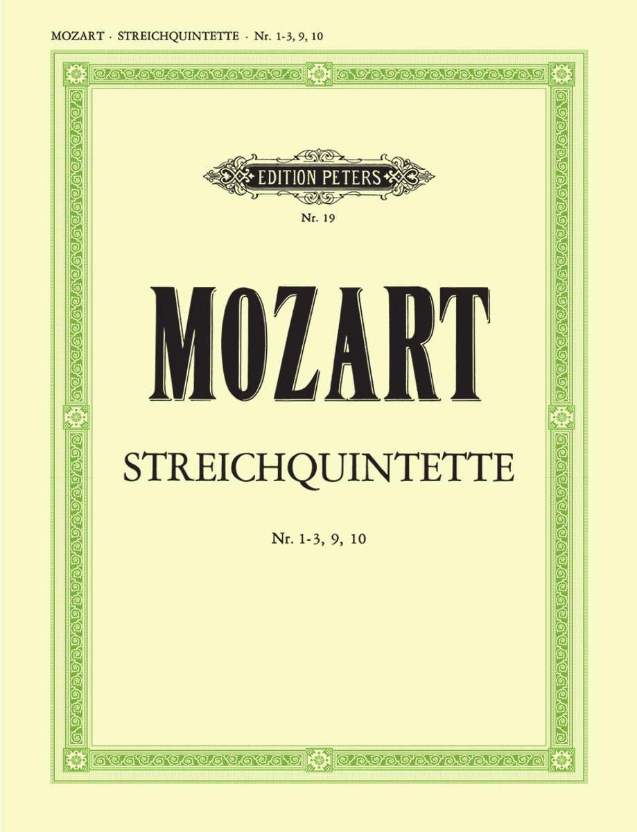 MOZART - Streichquintette - Bd. 2: Nr. 1-3, 9-10 - Stimmen - Partition - di-arezzo.co.uk