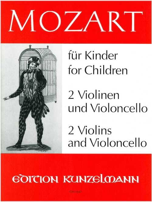 MOZART - Mozart for Kinder A. Opern - Partition - di-arezzo.com
