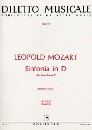 Leopold Mozart - Sinfonia D-Dur - Partitur - Partition - di-arezzo.fr