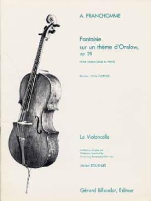 Auguste Franchomme - Fantasy on a theme of Onslow op. 28 - Partition - di-arezzo.co.uk