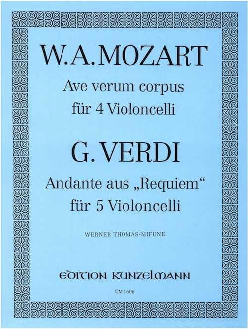 Ave Verum Corpus KV 618 / Andante Requiem - laflutedepan.com