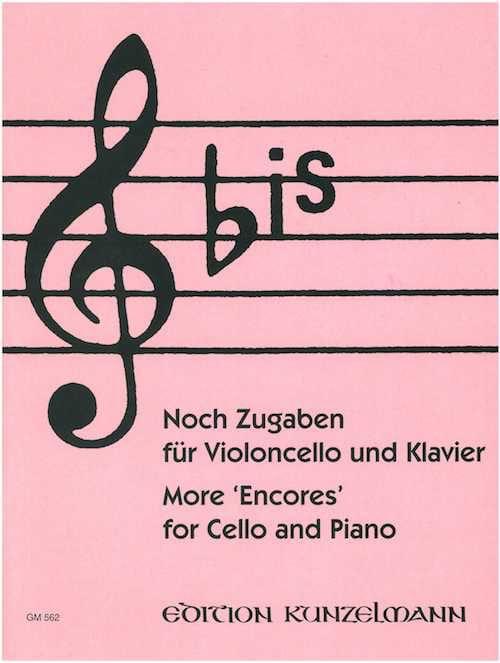 Bis : Noch Zugaben - Cello - Werner Thomas-Mifune - laflutedepan.com