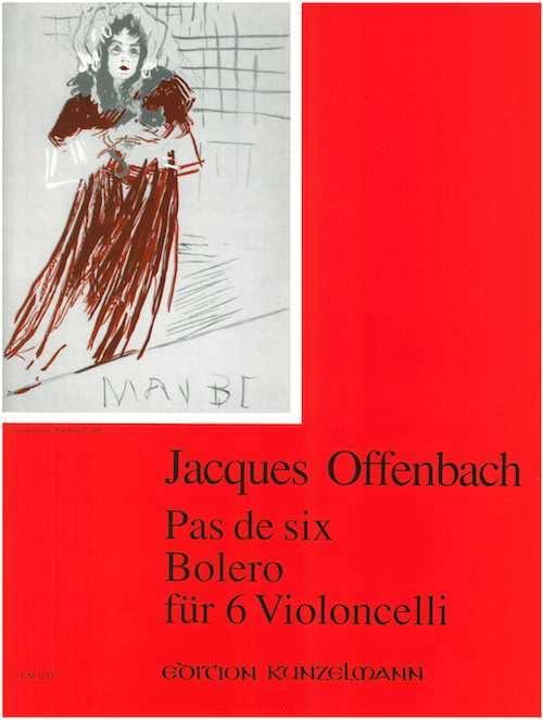 Jacques Offenbach - No six - Bolero für 6 Violoncelli - Partition - di-arezzo.com
