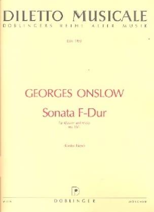 Sonate F-Dur op. 16 n° 1 - Georges Onslow - laflutedepan.com