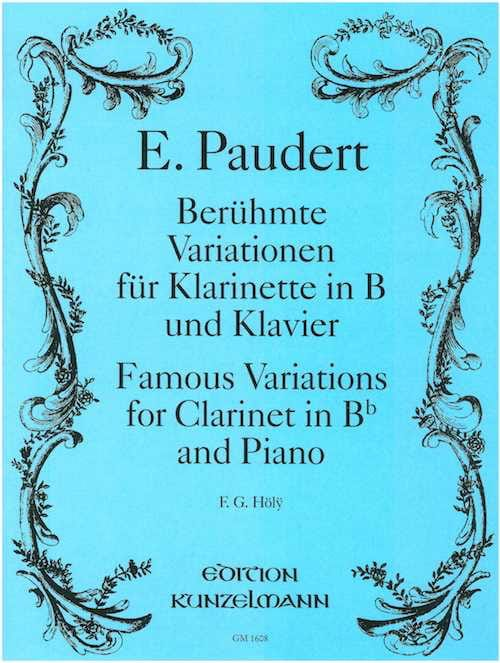 Berühmte Variationen - E. Paudert - Partition - laflutedepan.com