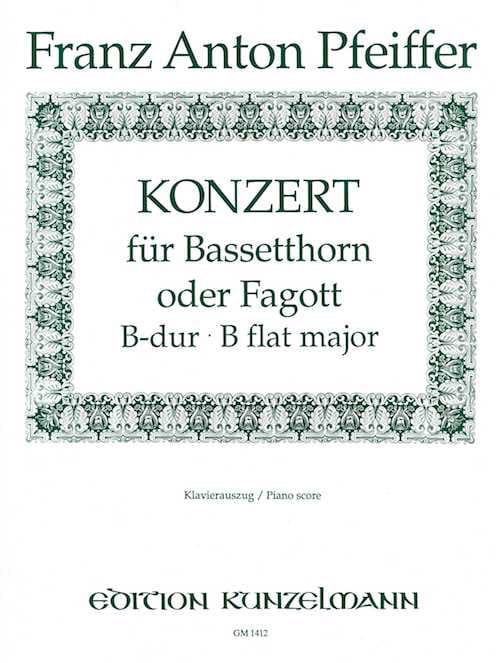 Konzert B-Dur für Bassetthorn o. Fagott - laflutedepan.com