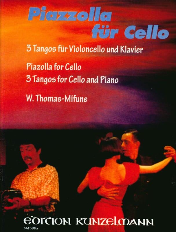 Astor Piazzolla - Piazzolla für Cello - Partition - di-arezzo.es