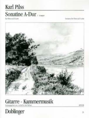 Sonatine A-Dur - Oboe u. Gitarre - Karl Pilss - laflutedepan.com