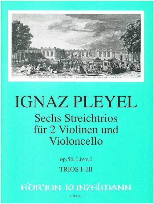 6 Trios op. 56 - Livre 1 : Nr. 1-3 -2 Violinen u. Violoncello - Stimmen - laflutedepan.com
