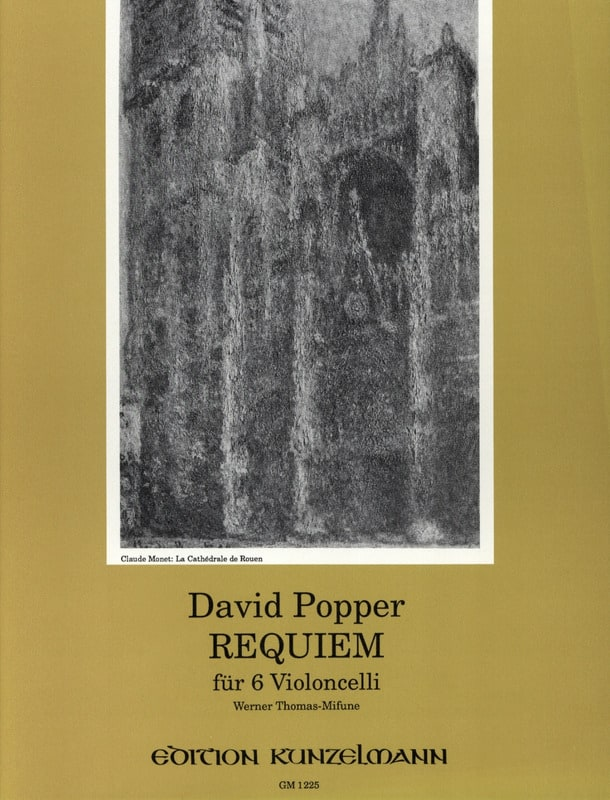 David Popper - Requiem for 6 Violoncelli - Partition - di-arezzo.com