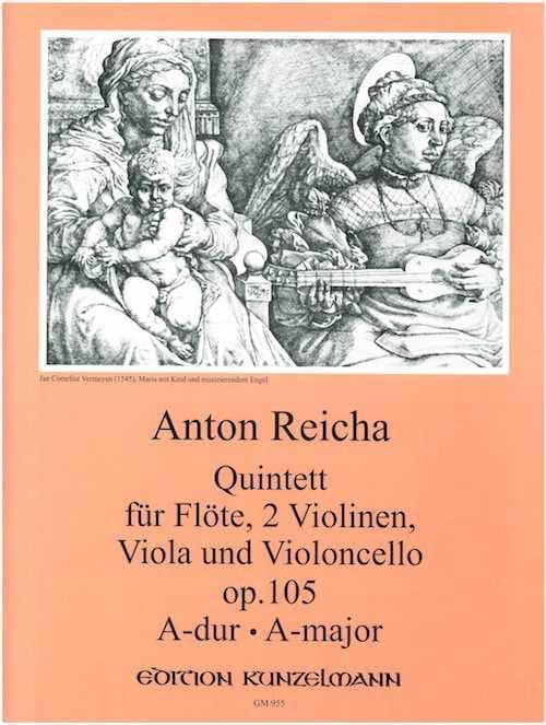 Quintette op. 105 - REICHA - Partition - laflutedepan.com