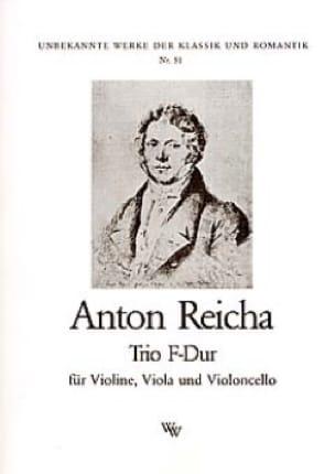 Trio F-Dur -Stimmen - REICHA - Partition - Trios - laflutedepan.com