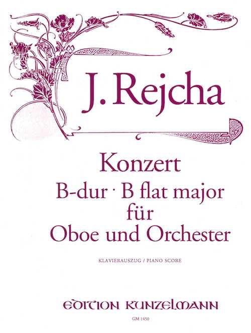 Konzert für Oboe in B-Dur - Oboe Klavier - laflutedepan.com
