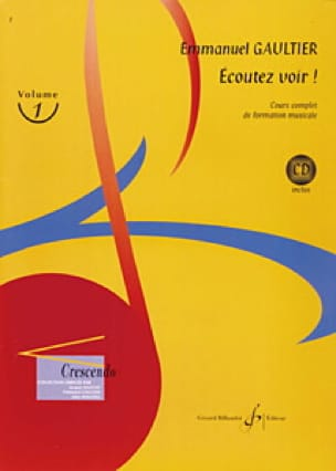 Emmanuel Gaultier - Listen See! Volume 1 - Partition - di-arezzo.co.uk
