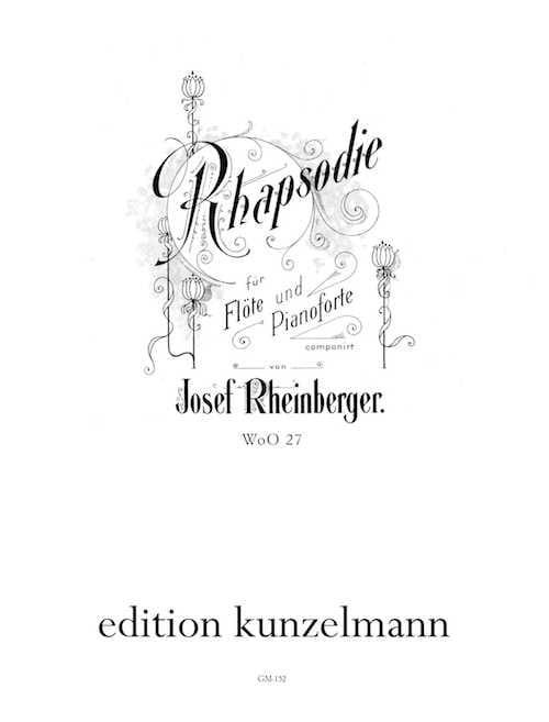 Rhapsodie H-Dur ohne op. 27 - Flöte Klavier - laflutedepan.com