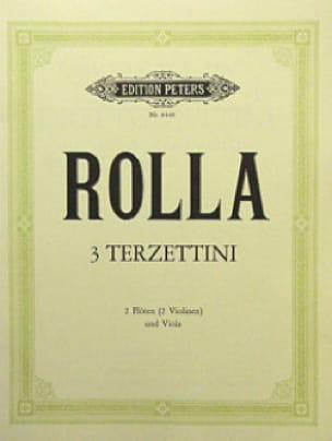 3 Terzettini -2 Flöten Violinen Viola - laflutedepan.com