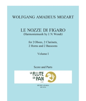 Le Nozze Di Figaro Volume 1 Harmoniemusik Score