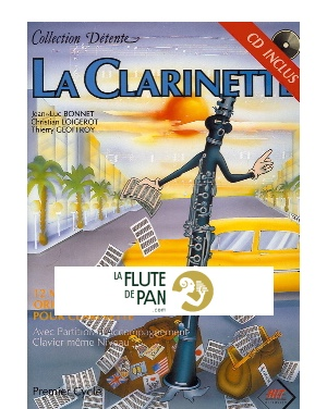 pre order delicate colors undefeated x La Clarinette Collection Détente - Partition - laflutedepan.com