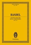Musique Pour les Feux D'artifices Royaux Hwv.351 HAENDEL laflutedepan