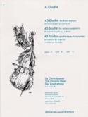45 Etudes de divers auteurs, Volume 1 A. Gouffé laflutedepan.com