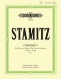 Concerto D-Dur op. 1 – Alto / Piano Carl Stamitz laflutedepan.com
