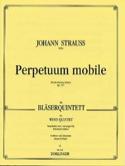 Perpetuum mobile op. 257 -Bläserquintett - Partitur + Stimmen laflutedepan.com