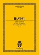 Orgel-Konzert G-Moll, Op. 4/3 - Conducteur HAENDEL laflutedepan.com