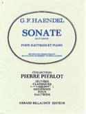Sonate en Ut Mineur pour Hautbois HAENDEL Partition laflutedepan.com