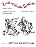 2 Verrückte Sambas Werner Thomas-Mifune Partition laflutedepan.com