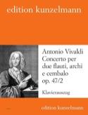 Concerto op. 47 n° 2 –2 Flauti piano Antonio Vivaldi laflutedepan.com