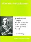 Concerto G-Moll Pv 411 VIVALDI Partition laflutedepan.com