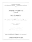 Divertimento B-Dur - 2 Oben Englischhorn Johann Wenth laflutedepan.com