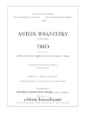 Trio C-Dur - 2 Oboen Englischhorn Anton Wranitzky laflutedepan.com