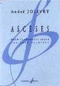 Ascèses André Jolivet Partition Clarinette - laflutedepan.com