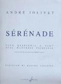 Sérénade - Parties + Conducteur André Jolivet laflutedepan.com
