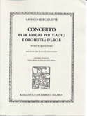 Concerto in mi minore -flauto piano laflutedepan.com