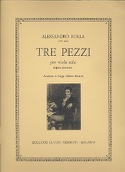3 Pezzi op. posth. - Alessandro Rolla - Partition - laflutedepan.com