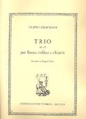Trio Opus 13 Filippo Gragnani Partition Trios - laflutedepan.com